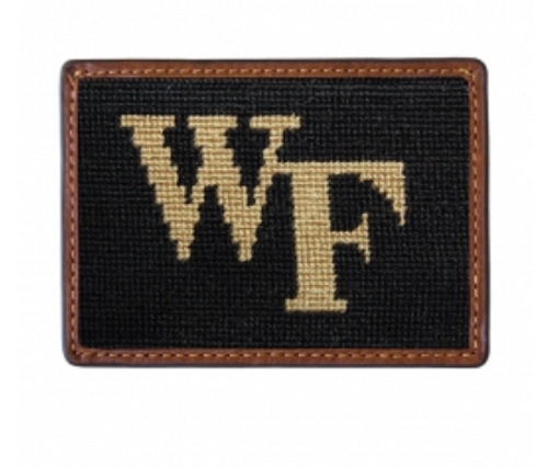 Wallet Needlepoint Credit Card - Wake Forest