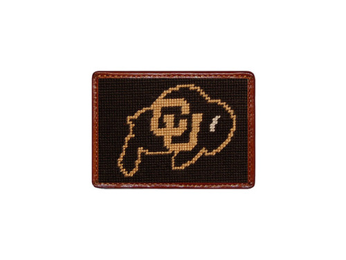 University  of Colorado Boulder Needlepoint Card Wallet