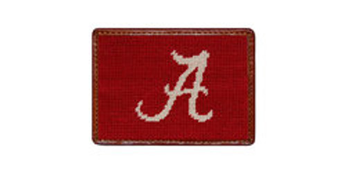 Alabama Needlepoint Card Wallet