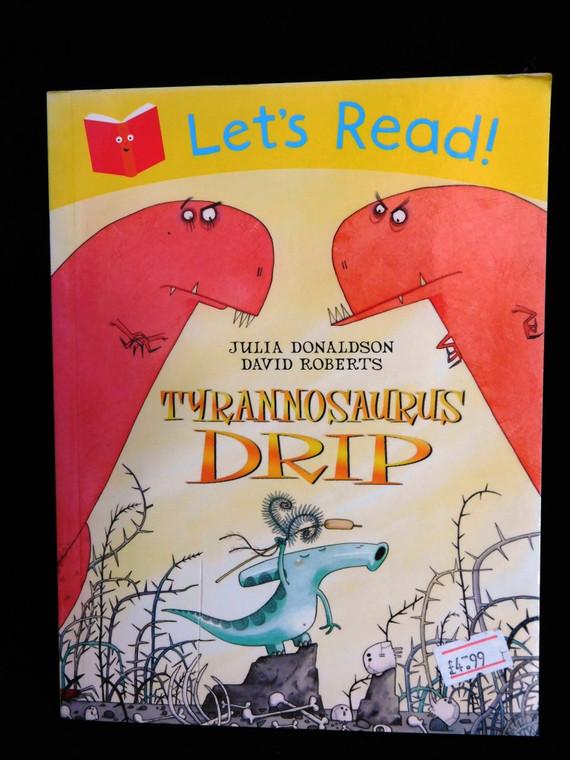 Tyrannosaurus Drip Book
