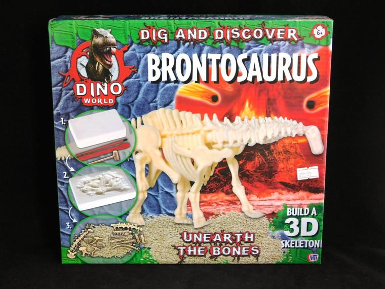 Dig and Build Brontosaurus Kit