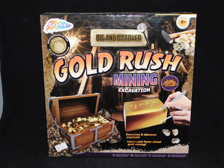 Dig and Discover Gold Rush Mining
