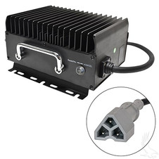 EZGO Admiral Advantage High Frequency Golf Cart Charger, 48V/15A