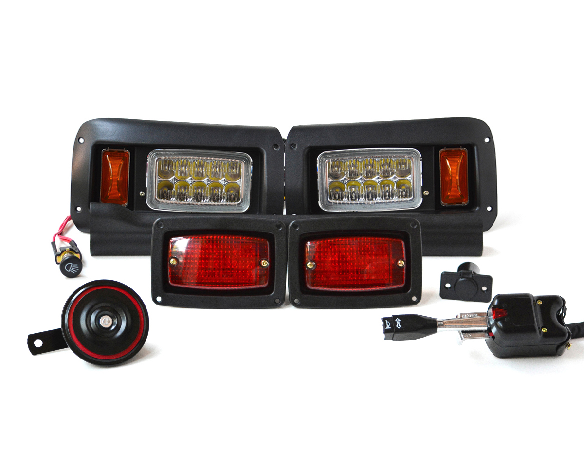 Club Car DS Street Legal Lights Kit