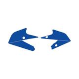 Elite Side Plate Grip Tape - Yamaha YZ250F 2019-2021 Blue