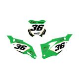 Kawasaki Substance Number Plate Graphics