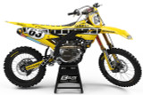 Yamaha Legend Yellow Graphics Kit