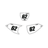 Husqvarna Outline Number Plate Graphics