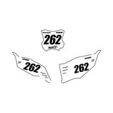 Kawasaki Outline Number Plate Graphics