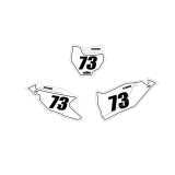 KTM Outline Number Plate Graphics