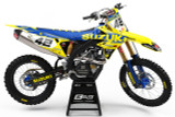 Suzuki Vice Blue Graphics Kit