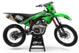 Elite Design Co Kawasaki Riot Green Graphics Kit