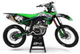 Kawasaki Rapture Green Graphics Kit