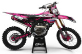Yamaha Attack Pink Graphics Kit
