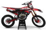 Yamaha Attack Red Graphics Kit