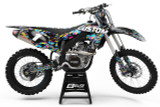 Custom Kawasaki Graphics Kit
