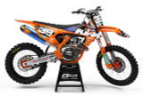 KTM Vantage Orange Graphics Kit