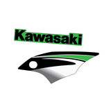 2007 Kawasaki KX450F Replica OEM Shroud Graphics