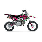 Kawasaki Kaos KLX110 Graphics Kit