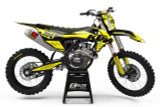 KTM Eclipse Yellow Graphics Kit
