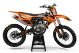 KTM Eclipse Orange Graphics Kit