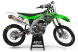 Kawasaki Empire Green Graphics Kit