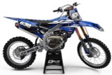 Yamaha Attack Blue Graphics Kit