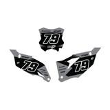 Kawasaki Flex Number Plate Graphics