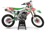 Kawasaki Castrol Graphics Kit
