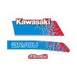 LH Kawasaki KLF 300 Bayou Replica Graphics