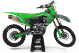 Kawasaki Stryker Green Graphics Kit