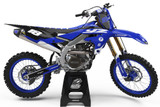 Yamaha Stryker Blue Graphics Kit