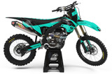 Kawasaki Stryker Teal Graphics Kit