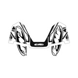 FMF Factory 4.1 Exhaust Graphics Black & White