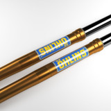Ohlins Horizontal Blue Fork Tube Sticker