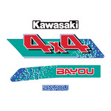 LH Set - 1994 Kawasaki KLF300 4x4 Blue