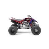 Yamaha Search Red ATV Graphics Kit
