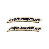 Pro Circuit Front Fender Graphic