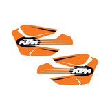 Orange Old School Hand Guards