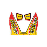 Pro Circuit Ti-6 Exhaust Graphics Red/Yellow Style