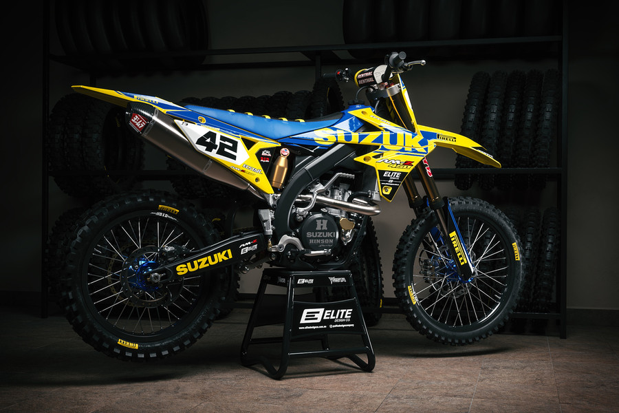 Suzuki Vice Blue Graphics Kit