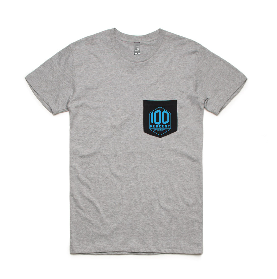 100% Strength Pocket Tee