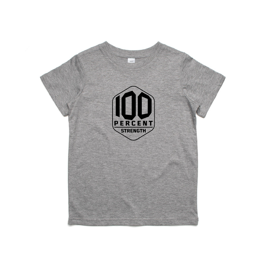 100% Strength Kids Tee