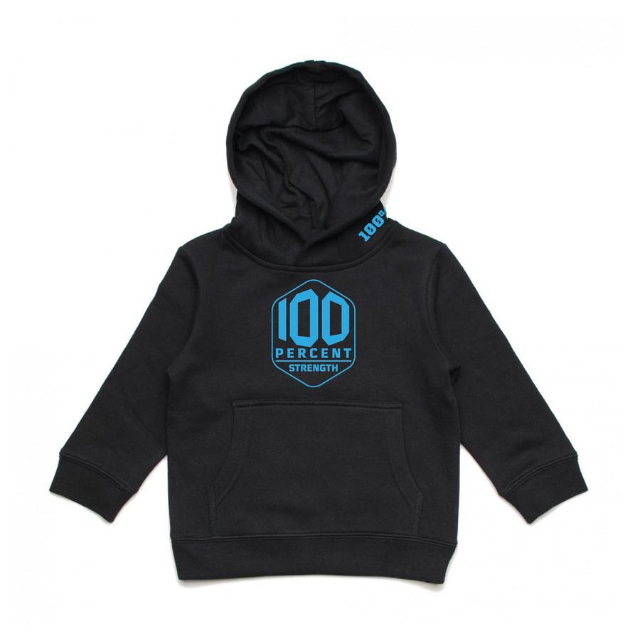 100% Strength Kids Hoodie