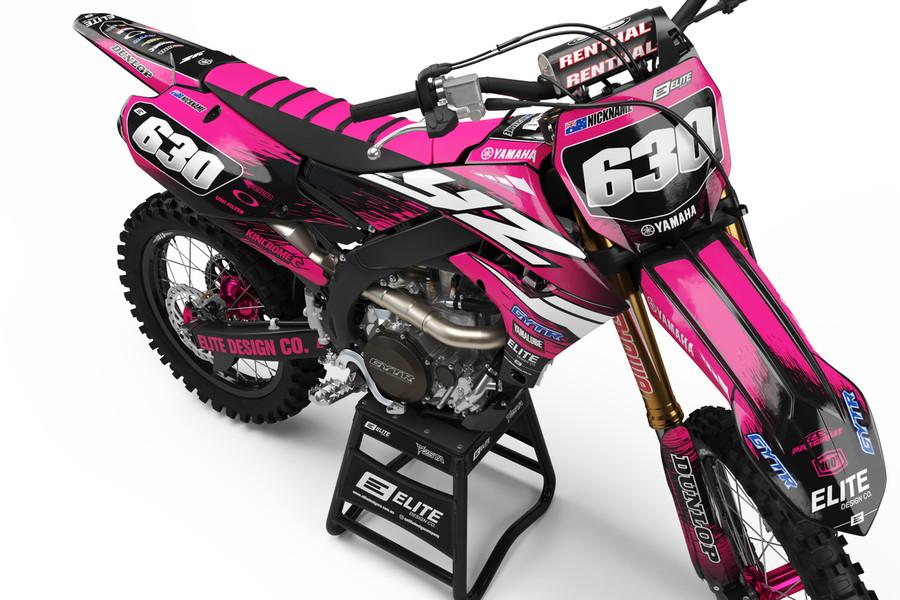 Yamaha Attack Pink Graphics Kit
