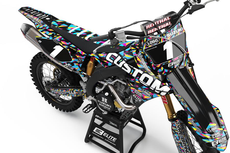 Custom Suzuki Graphics Kit