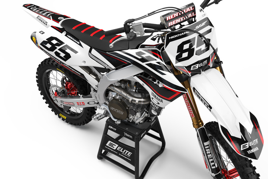 Yamaha Tactical Red Graphics Kit