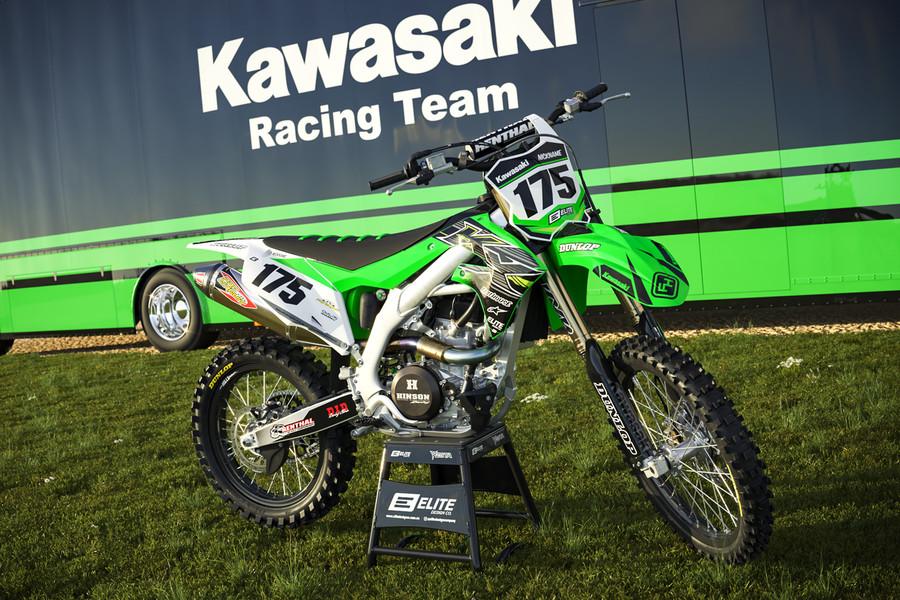 Kawasaki Empire Green Graphics Kit