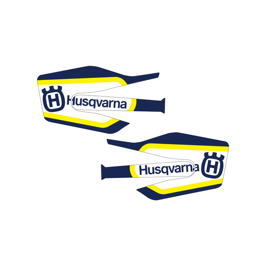 Husqvarna Factory Hand Guard Graphics