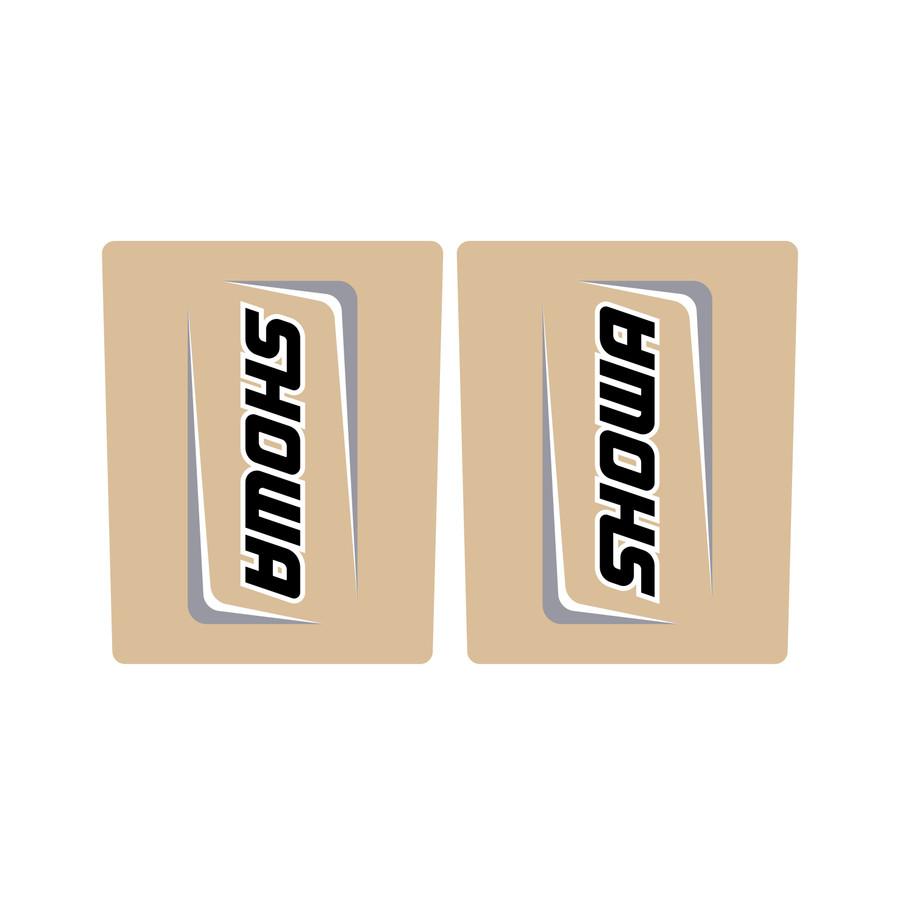 Showa Suspension Grey Fork Tube Sticker